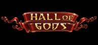 Hall of gods jackpot slot logo