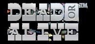 Dead or alive spillemaskine logo