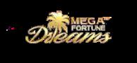 Mega fortune spillemaskine logo