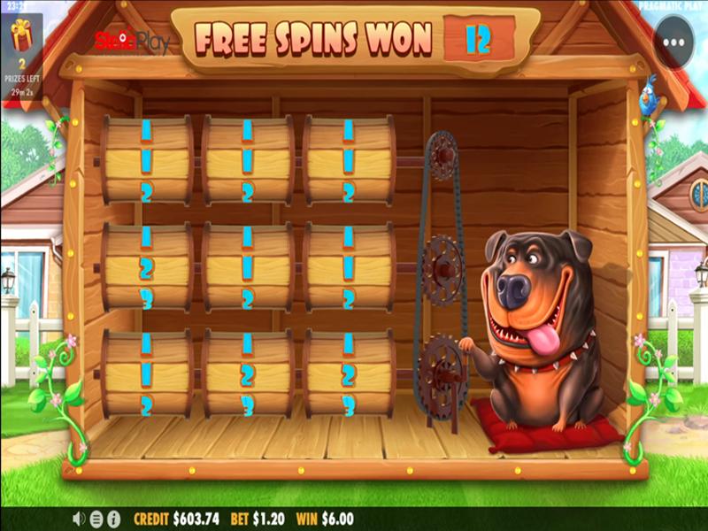 The dog house bonus spil