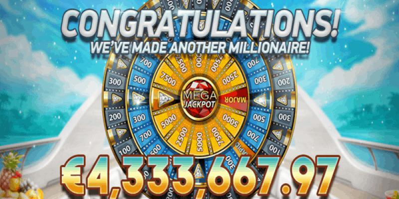 Mega fortune jackpot gevinst