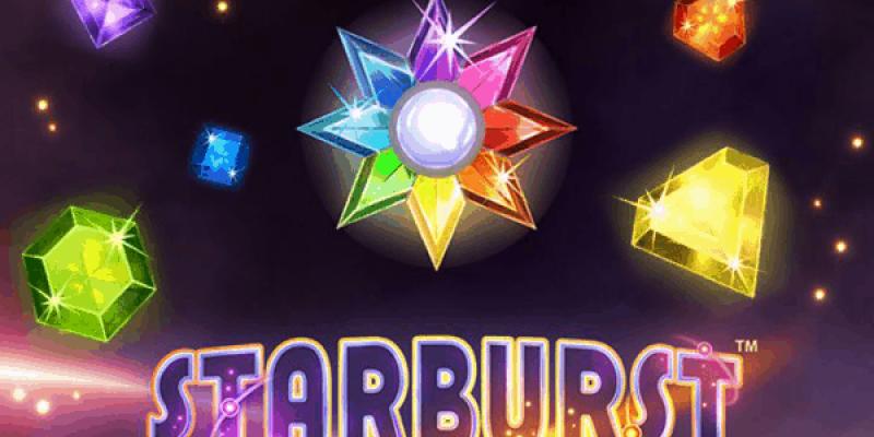 Starburst spillemaskine logo stor