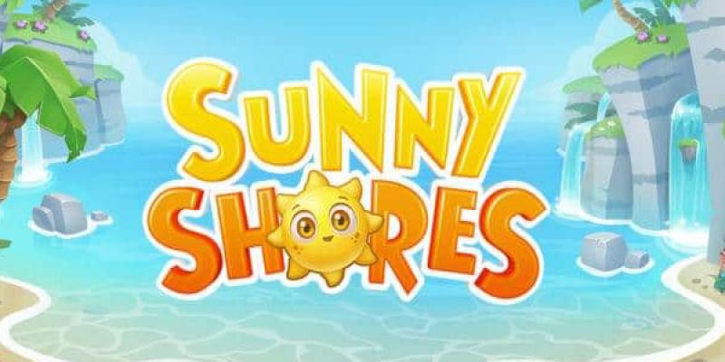 Sunny shores spillemaskine logo stor