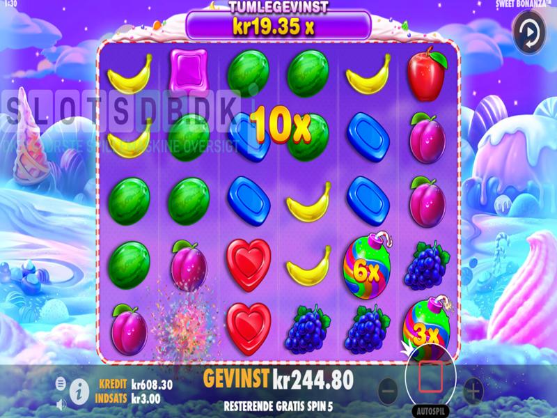 Sweet bonanza spillemaskine design