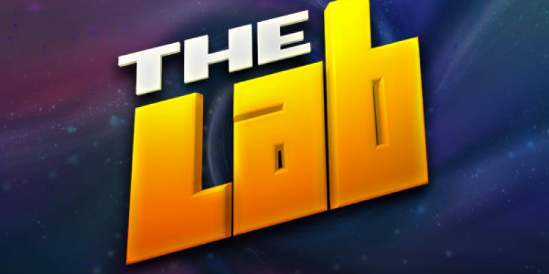 The lab spillemaskine logo