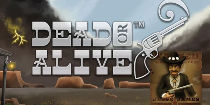 Dead or alive spillemaskine logo stor