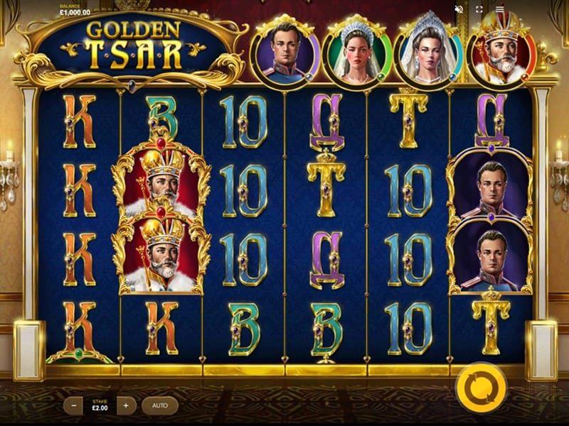 Golden tsar billede