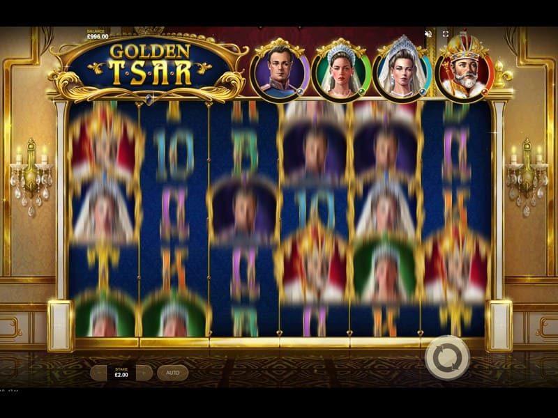Golden tsar spin