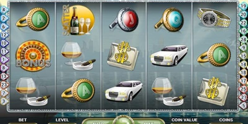 Mega fortune jackpot slot screenshot