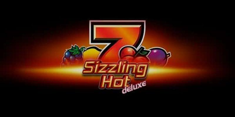 Sizzling hot deluxe spillemaskine stor logo